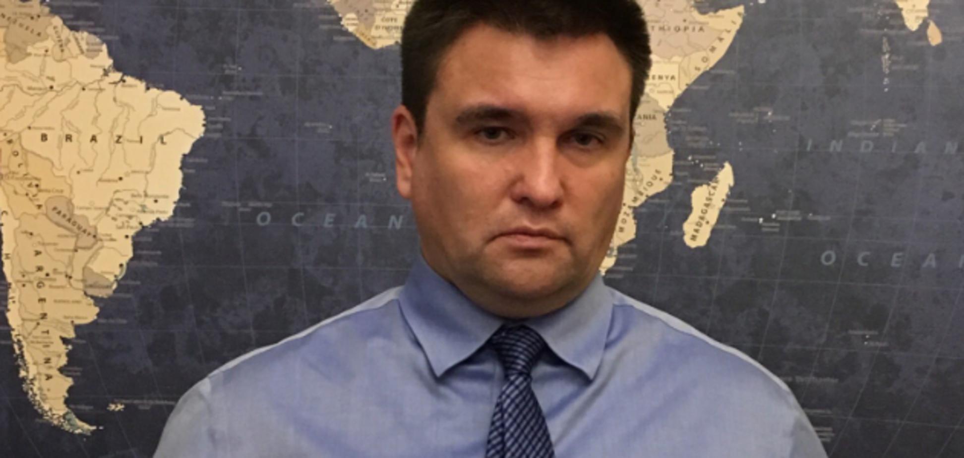 ''Дуже дратує!'' Клімкін втратив самовладання через ''диванну позицію'' Заходу до України