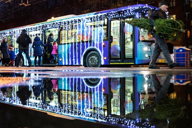 На Новый год в Киеве изменят график работы транспорта
