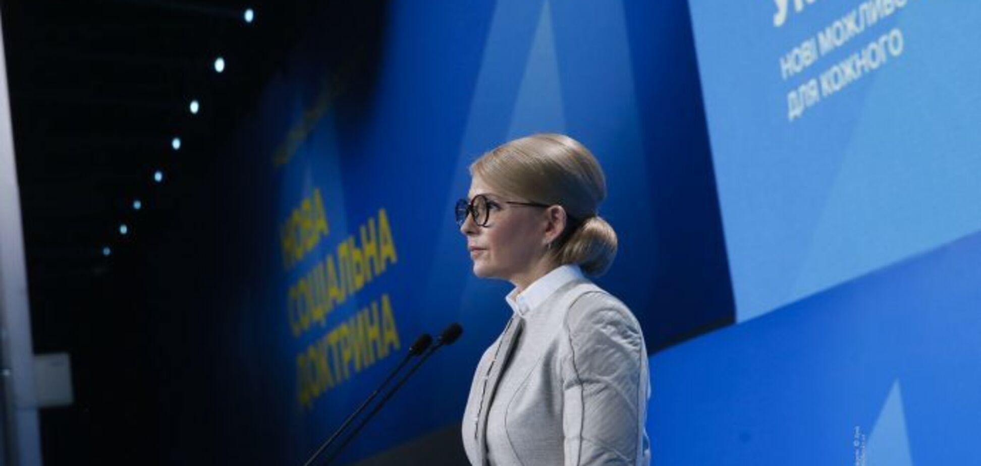 Тимошенко не тільки щось пропонує, але і має політичну волю реалізувати наміри