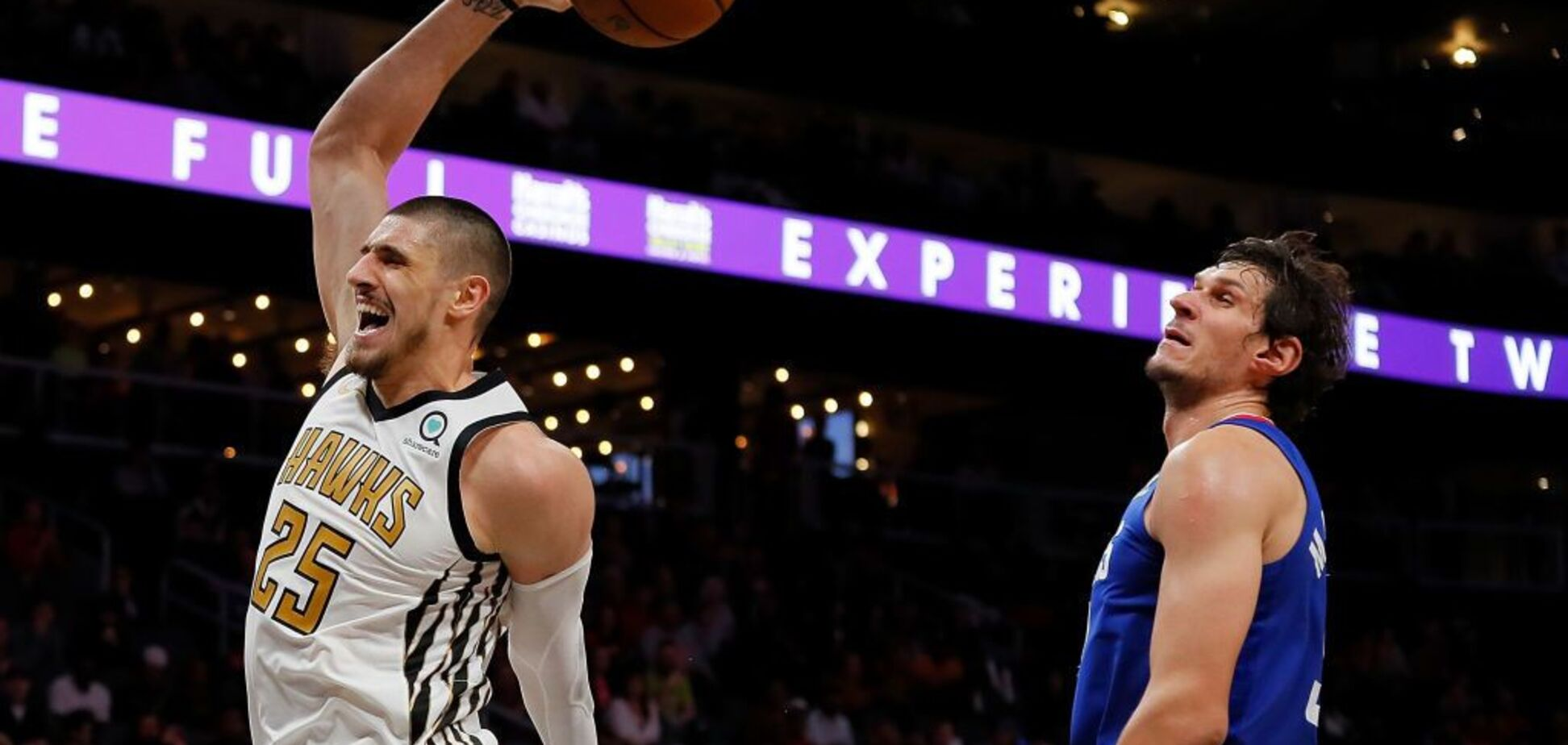 Украинец Лэнь установил рекорд в матче НБА