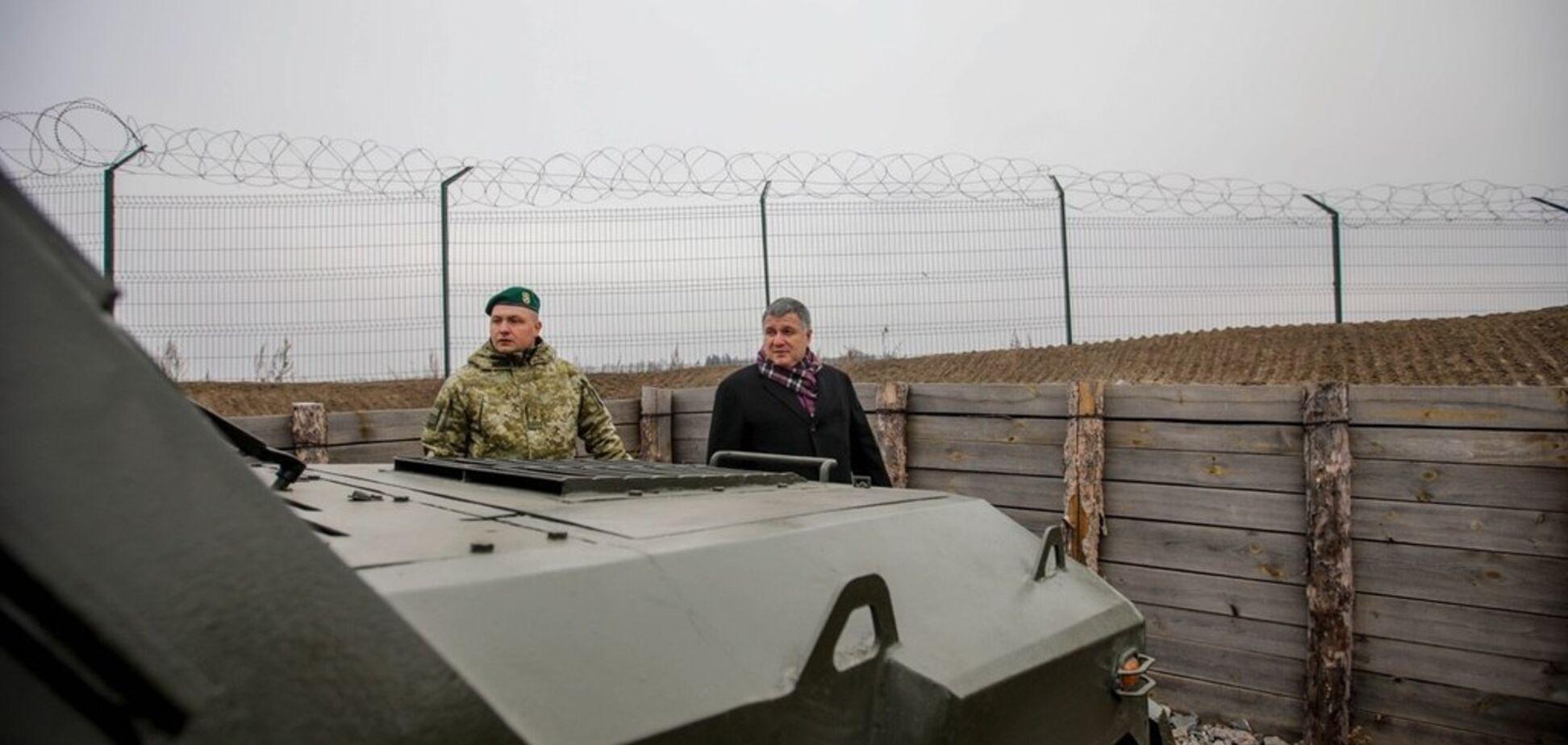 Аваков похвастался успехами на российской границе