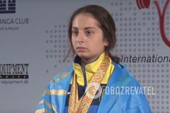Украинка стала чемпионкой Европы по пауэрлифтингу