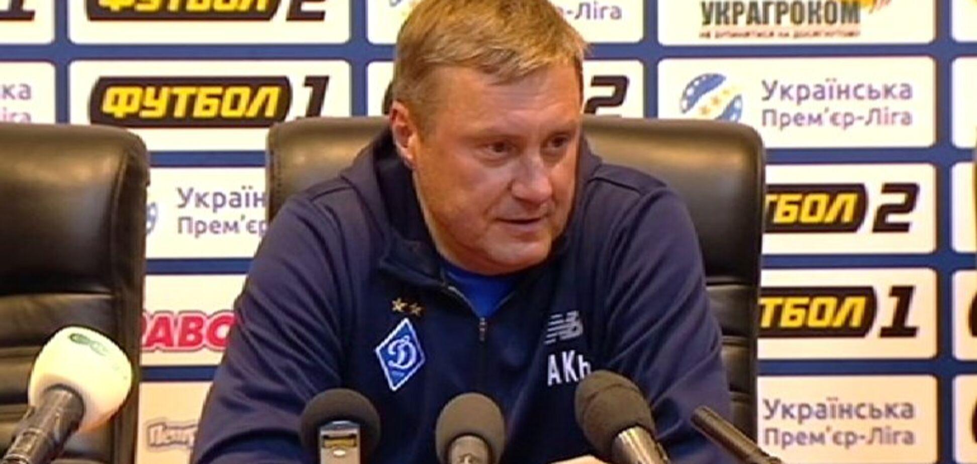 'На одну помилку більше': Хацкевич прокоментував поразку 'Динамо'