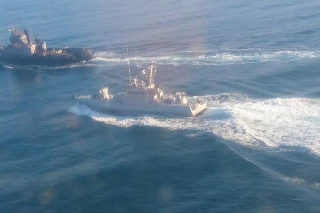 Захват украинских кораблей