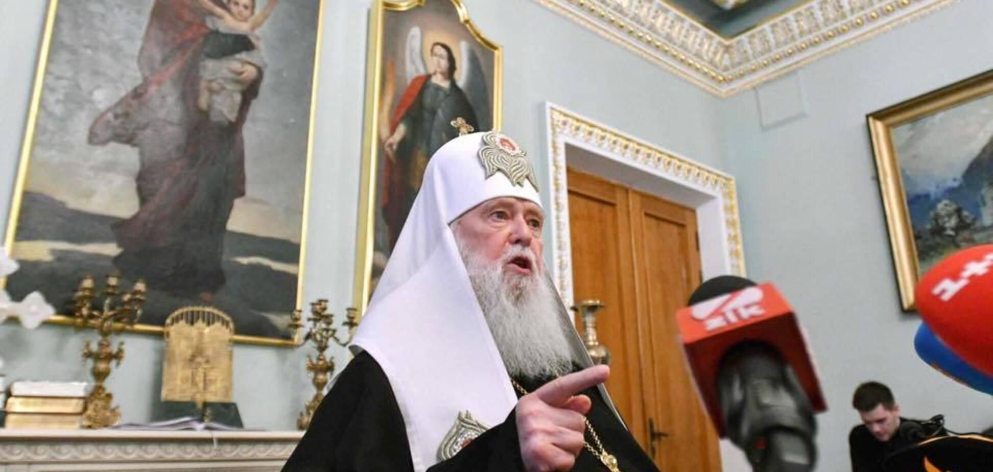 ''Братоубийцы!'' Патриарх Филарет выступил с мощной речью из-за агрессии России в Азовском море