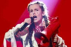 ''Восхищаемся и гордимся'': участница детского ''Евровидения'' от Украины растрогала сеть