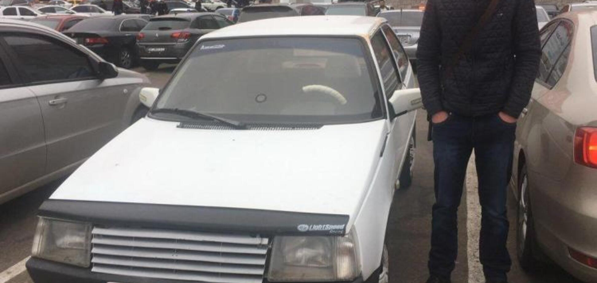 ''Це фіаско'': у Запоріжжі хлопець заявив про викрадення автомобіля і зганьбився