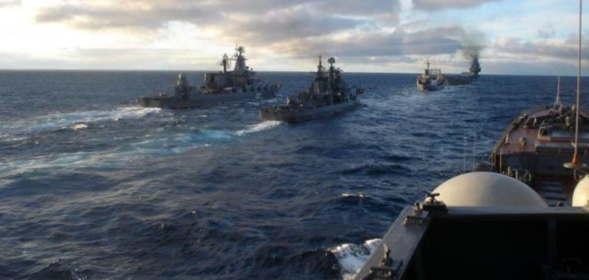 ''Медведев в панике орет!'' Появилась запись переговоров российских экипажей в Азовском и Черном морях