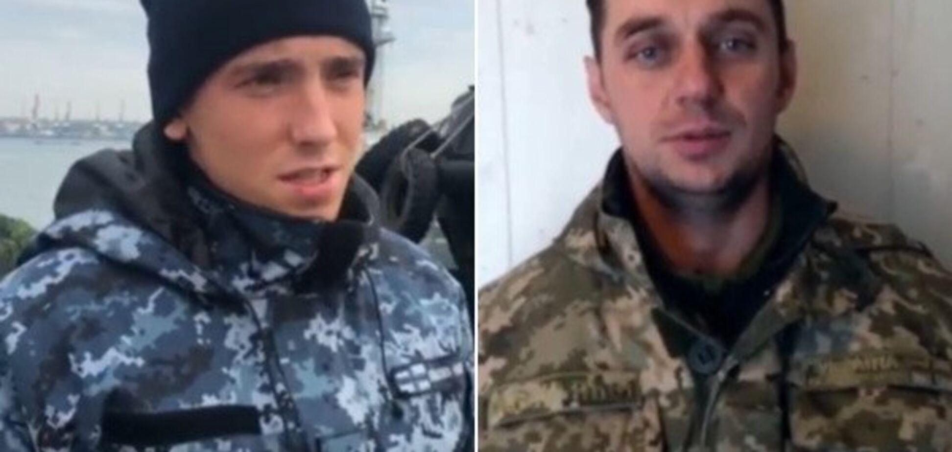 Захоплення українських моряків: росіяни показали 'допит' полонених