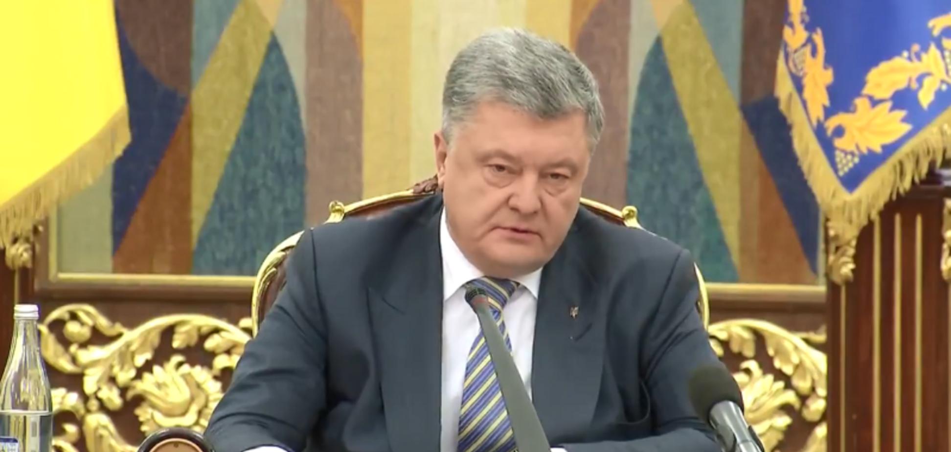 Воєнний стан в Україні: Порошенко назвав дату введення і його термін