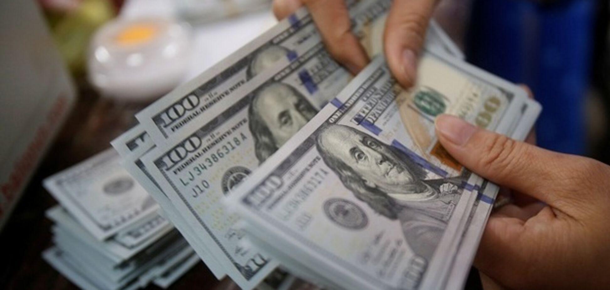 В Україні раптово зріс курс долара