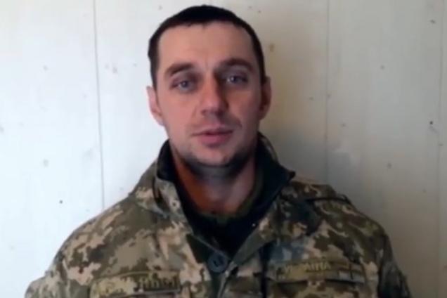 Командир однієї з військових частин ВМС України Володимир Лісовий