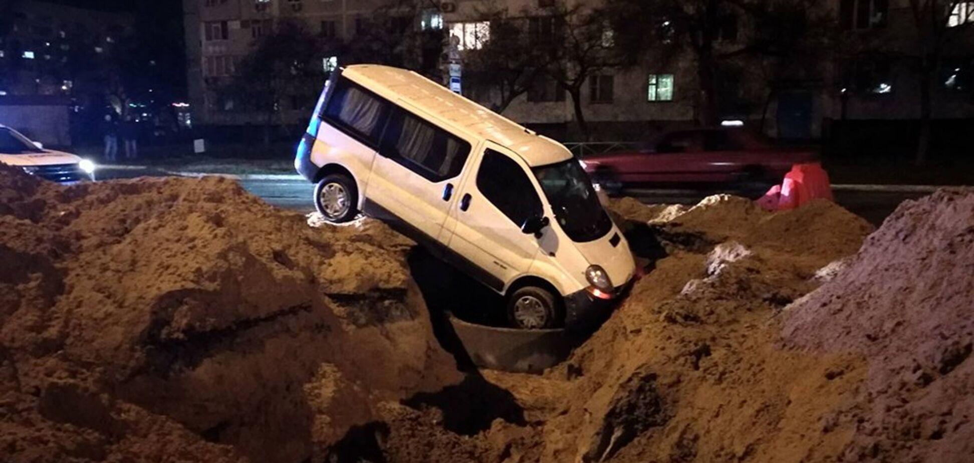 Під Запоріжжям сталася ДТП через комунальників: фото