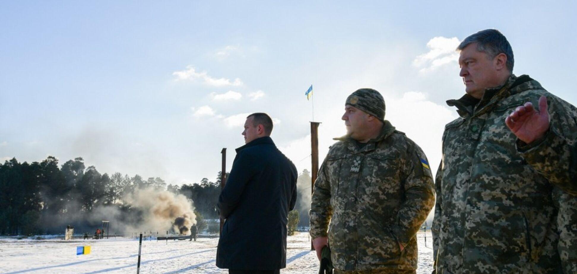 В Украине начало действовать военное положение