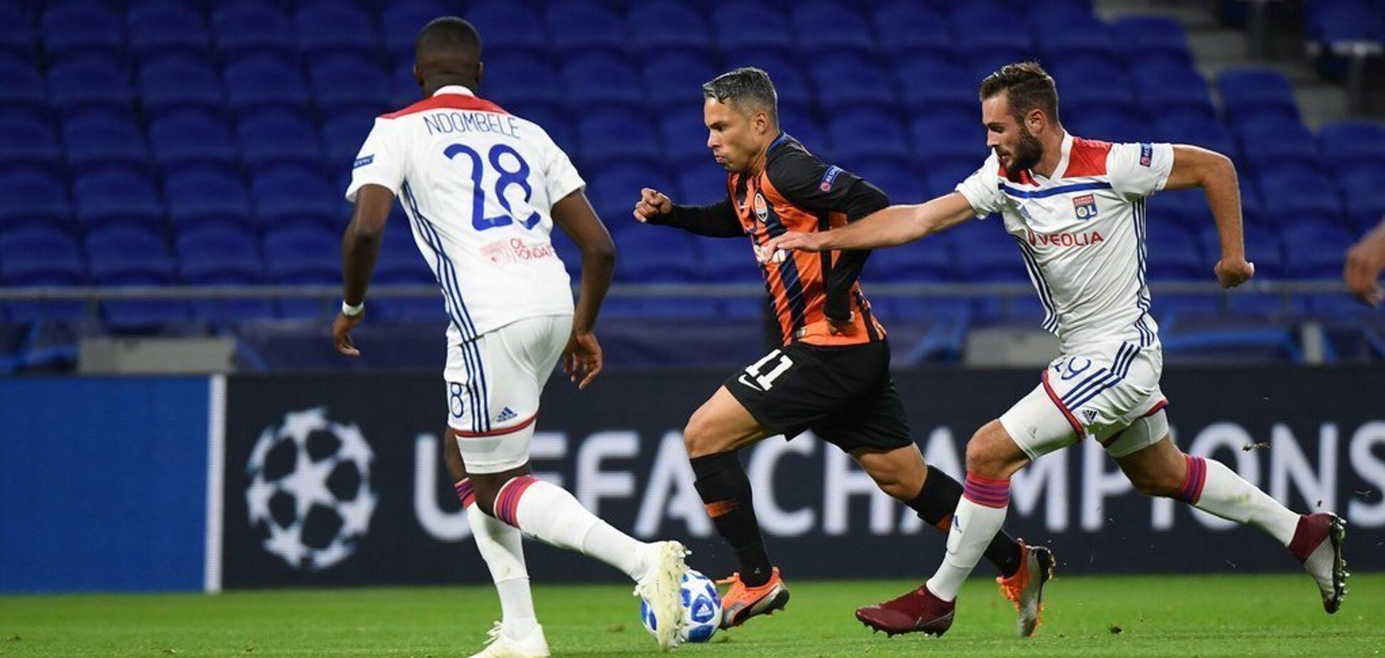 'Лион' может не прилететь в Украину на матч Лиги чемпионов с 'Шахтером'
