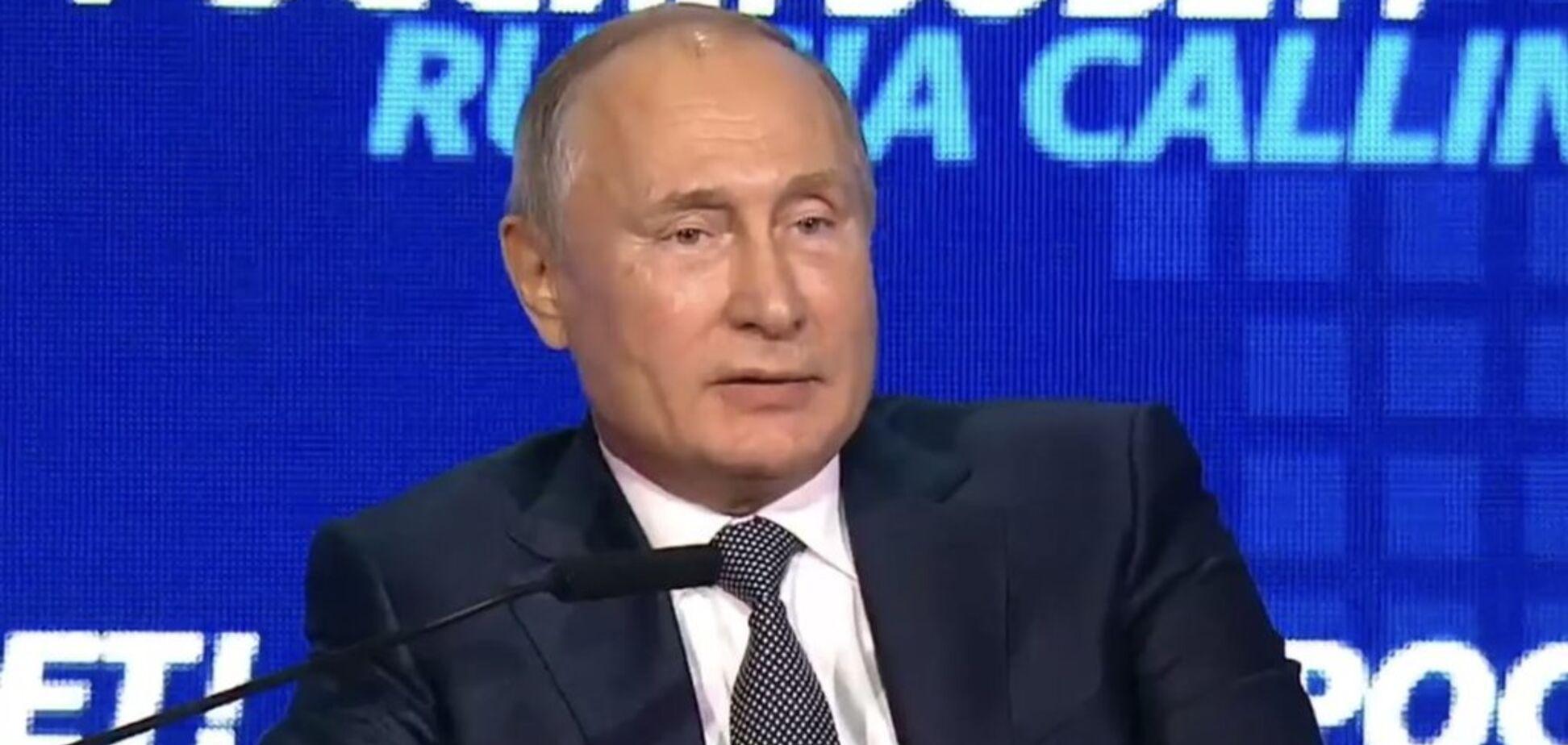 ''Брати навіки'' і ''немовлята на сніданок'': що наговорив Путін про Україну на форумі ''Росія кличе''