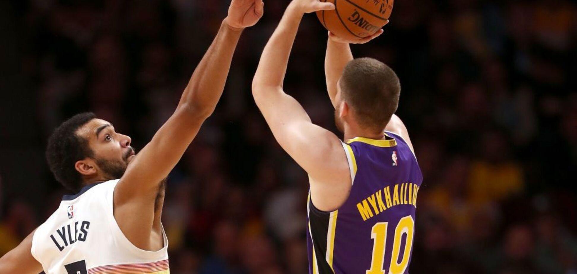 Тренер 'Лейкерс' зробив заяву про майбутнє українця Михайлюка в НБА