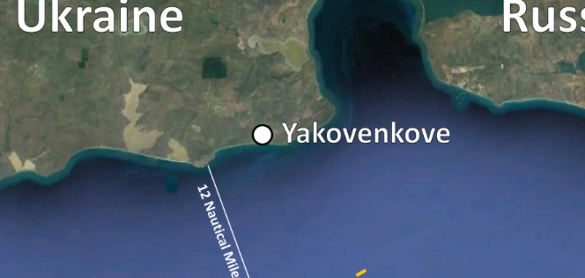 Росіяни захопили українських моряків у міжнародних водах