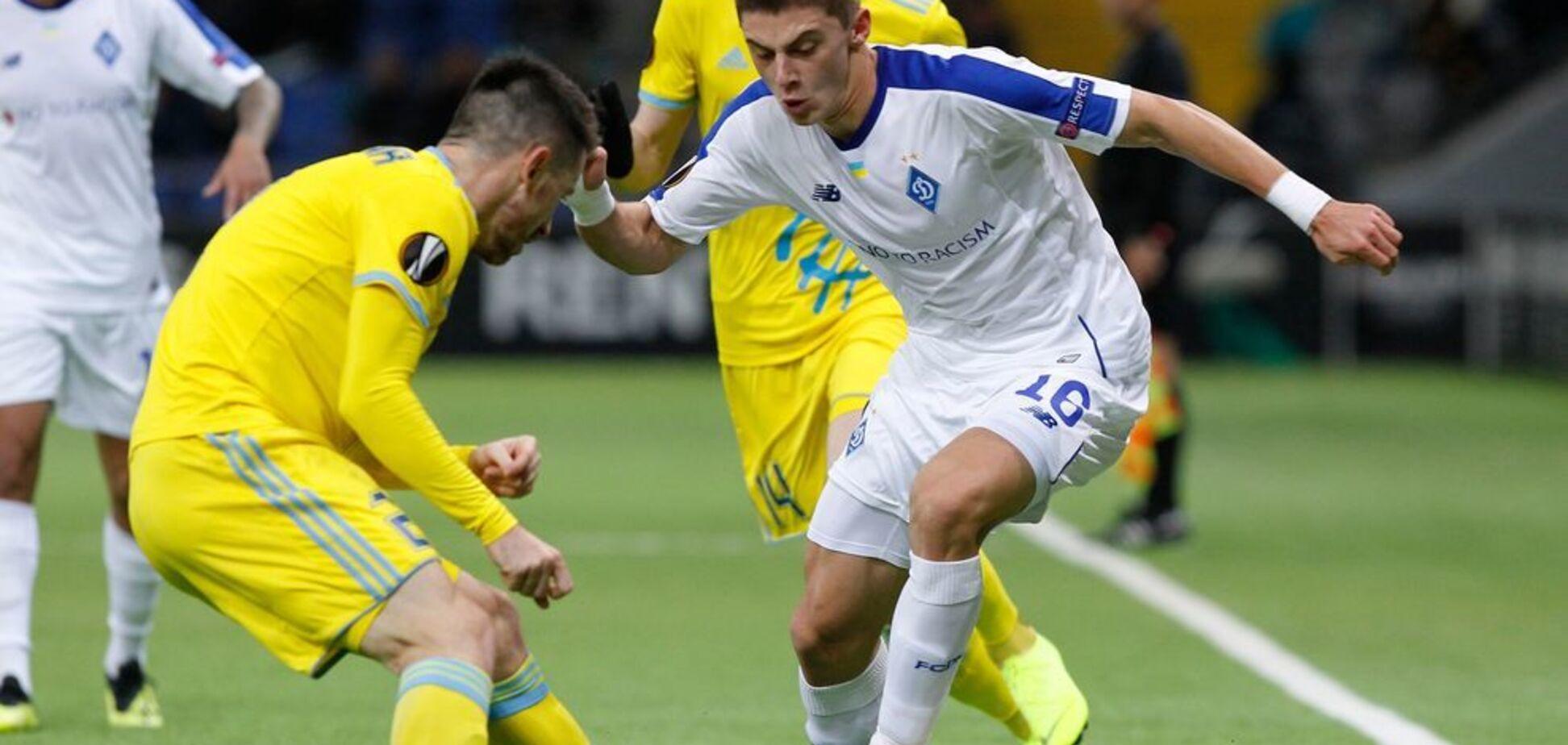 'Динамо' з першого місця вийшло у плей-офф Ліги Європи