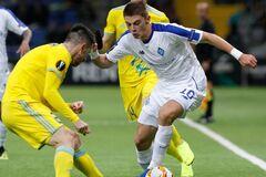 'Динамо' с первого места вышло в плей-офф Лиги Европы