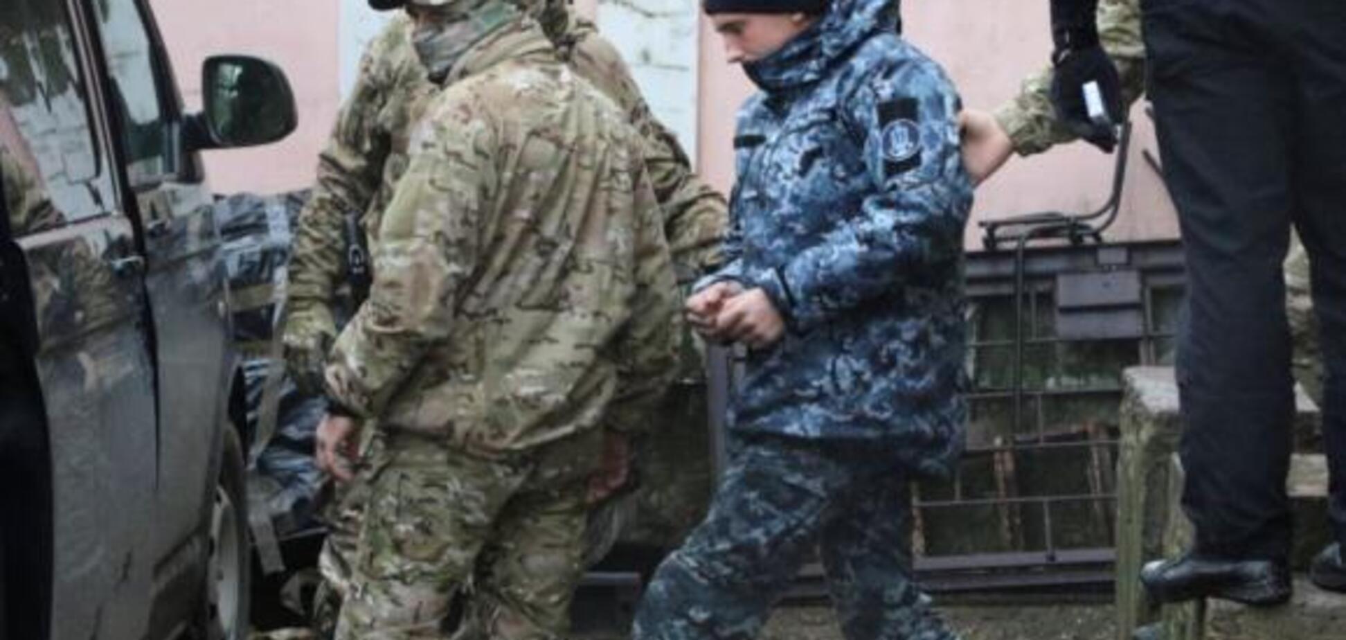 Полонені українські моряки в Криму