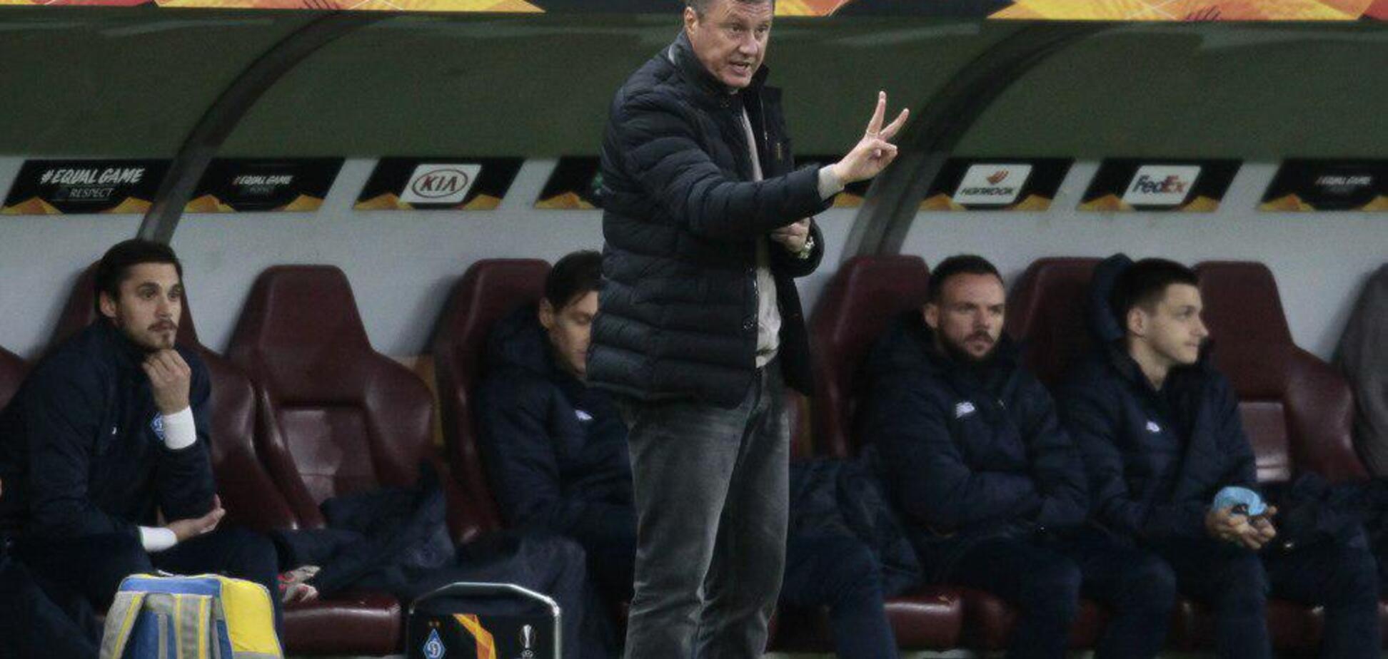 ''Критики було багато'': Хацкевич прокоментував перемогу 'Динамо' в ЛЄ