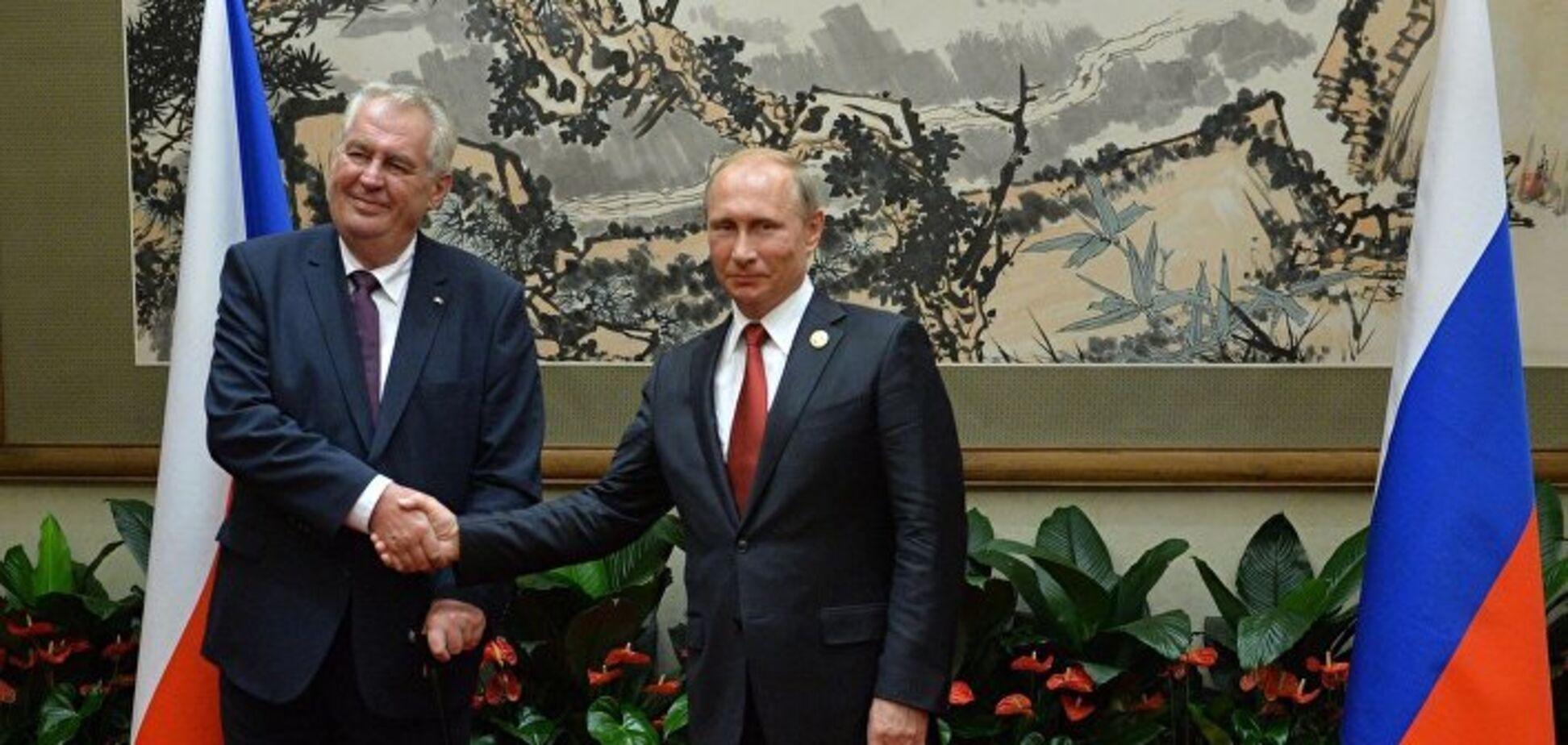 Земан і Путін