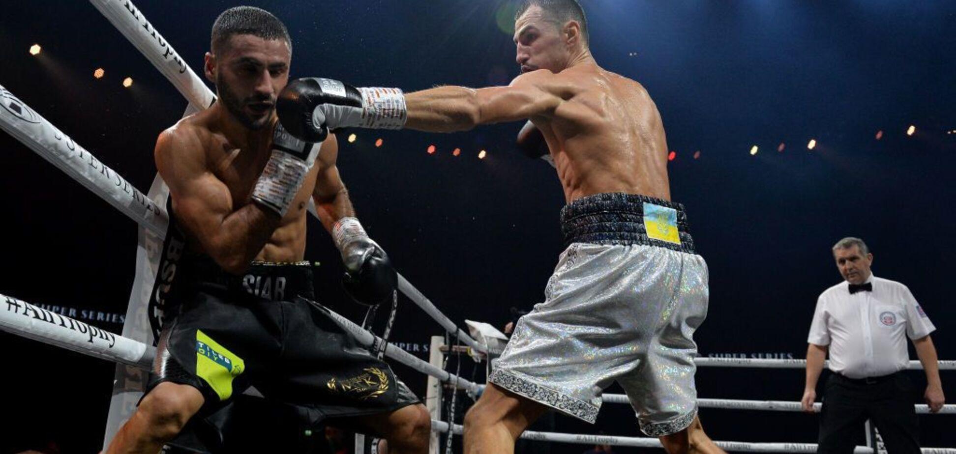 Знаменитий український боксер здобув впевнену перемогу в межах WBSS