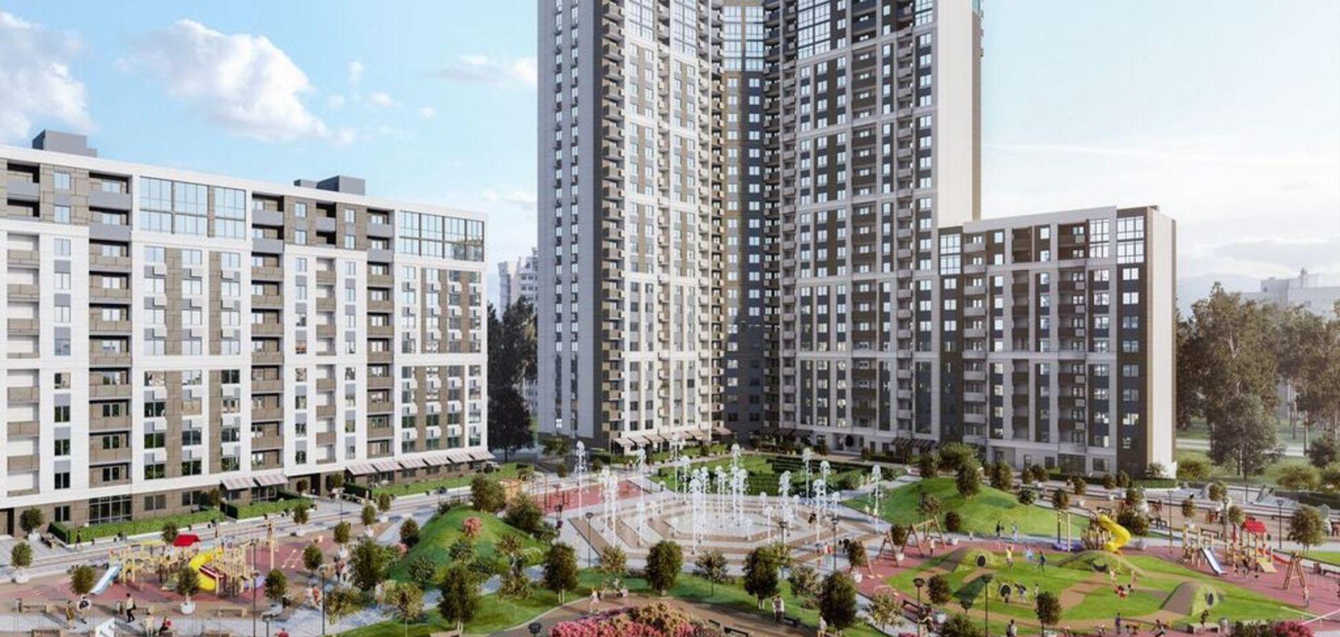 Жилой комплекс 'Святобор' Park Resort – столичные 'Липки на Львовской'