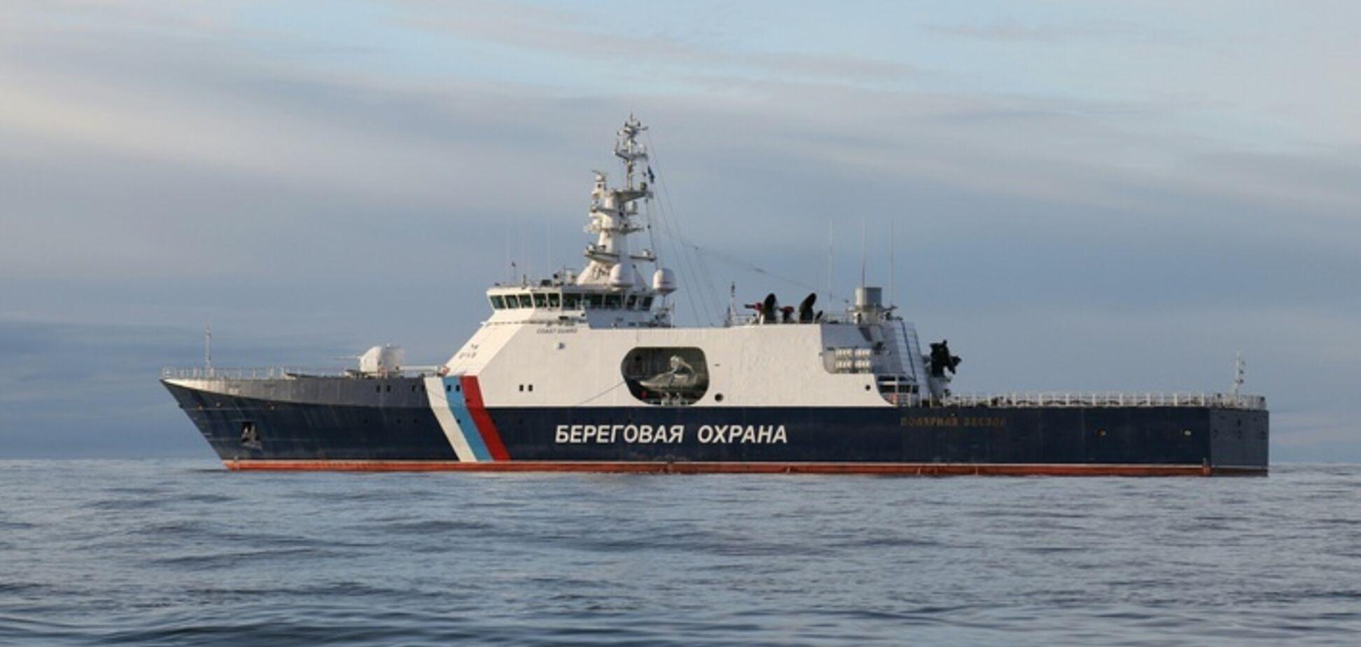 Нарушения России в Азовском море