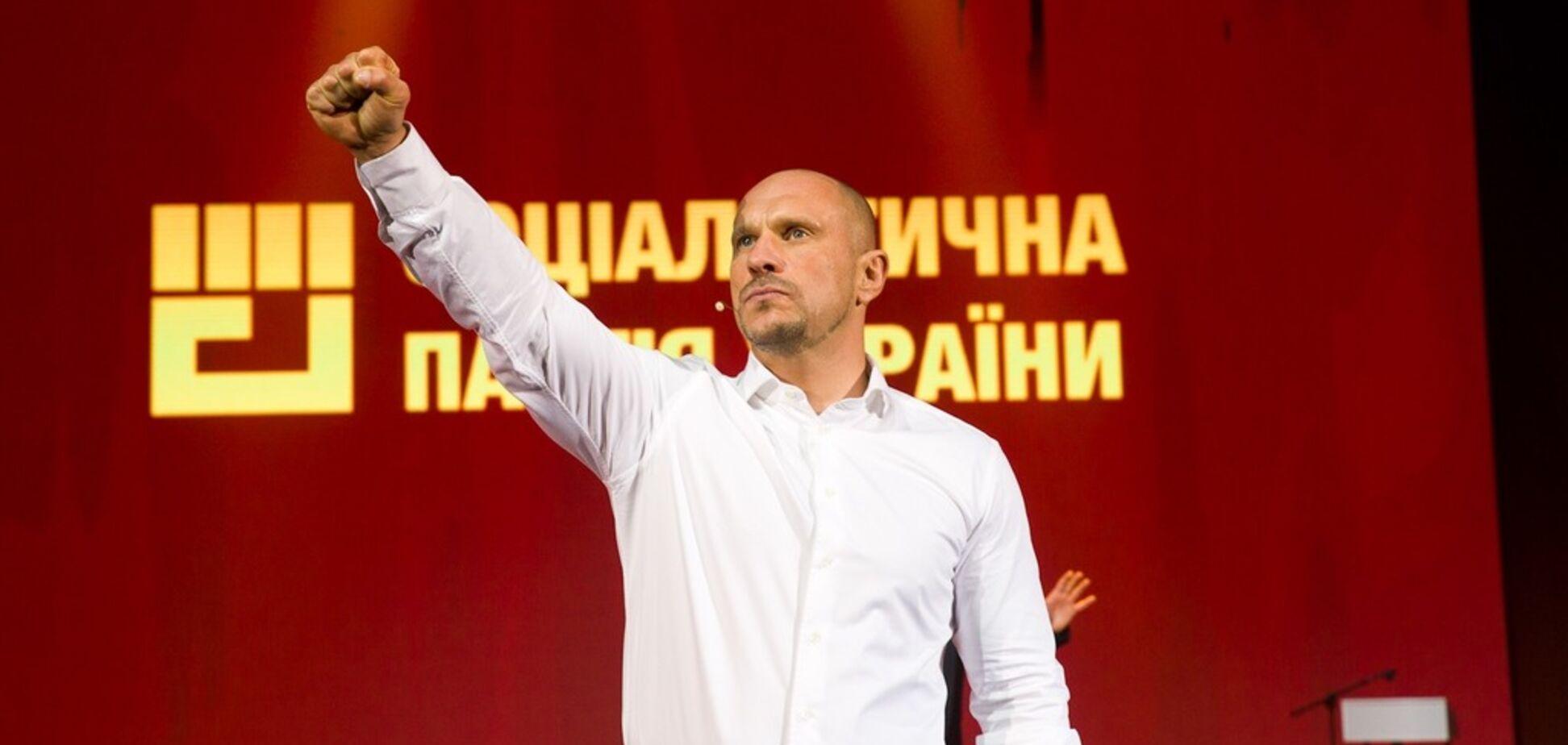 Кулак вместо розы: Илья Кива идет на президентские выборы от Соцпартии