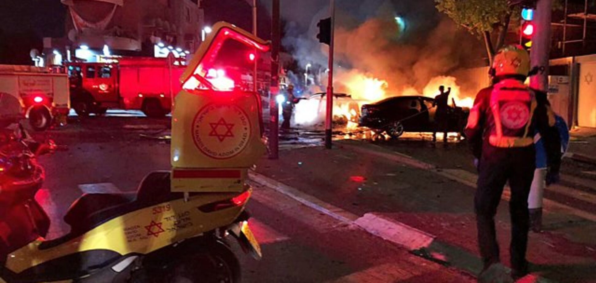 В Израиле взорвали криминального авторитета: фото и видео смертельного 'фейерверка'
