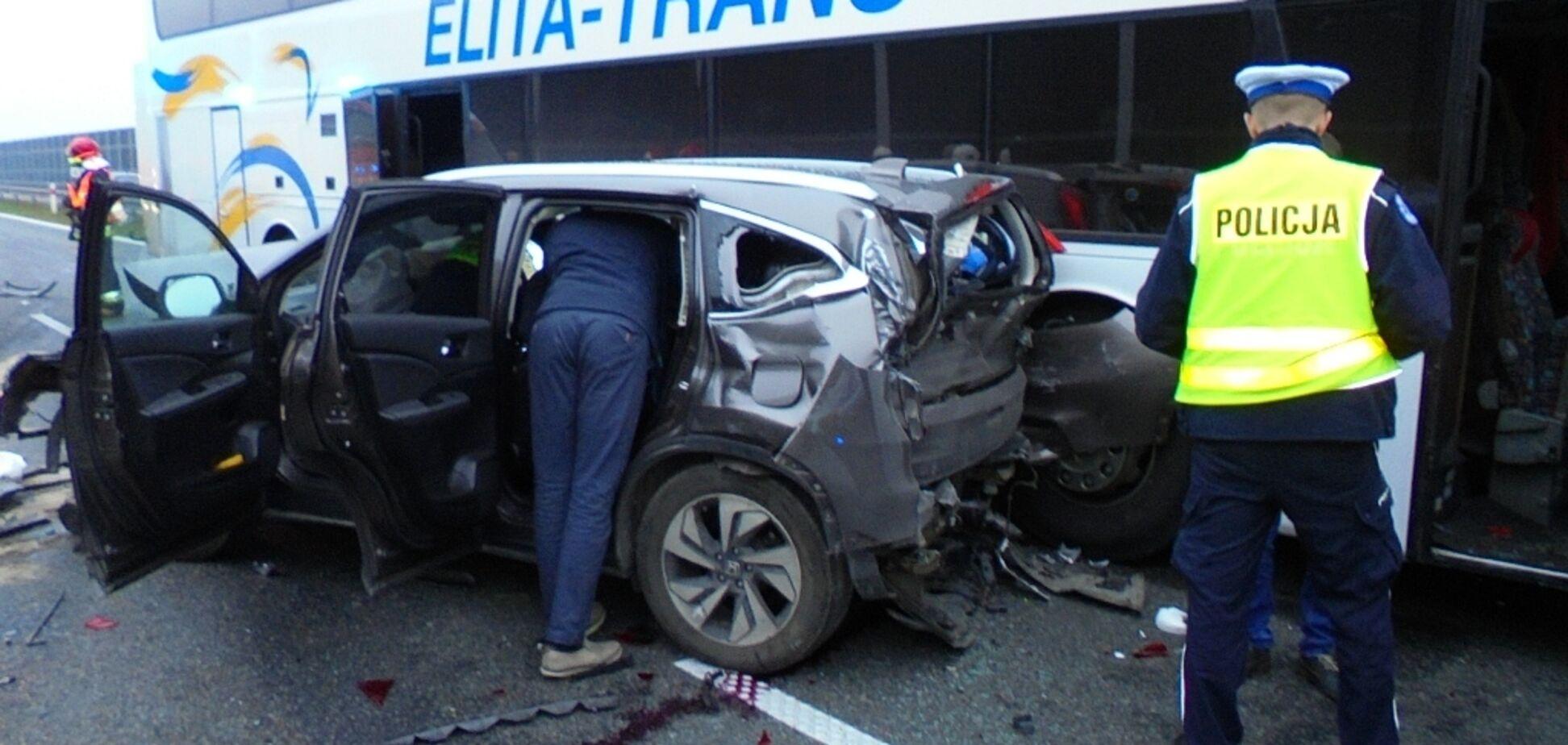 В Польше произошли жуткие ДТП с украинцами: много пострадавших, фото с места аварий