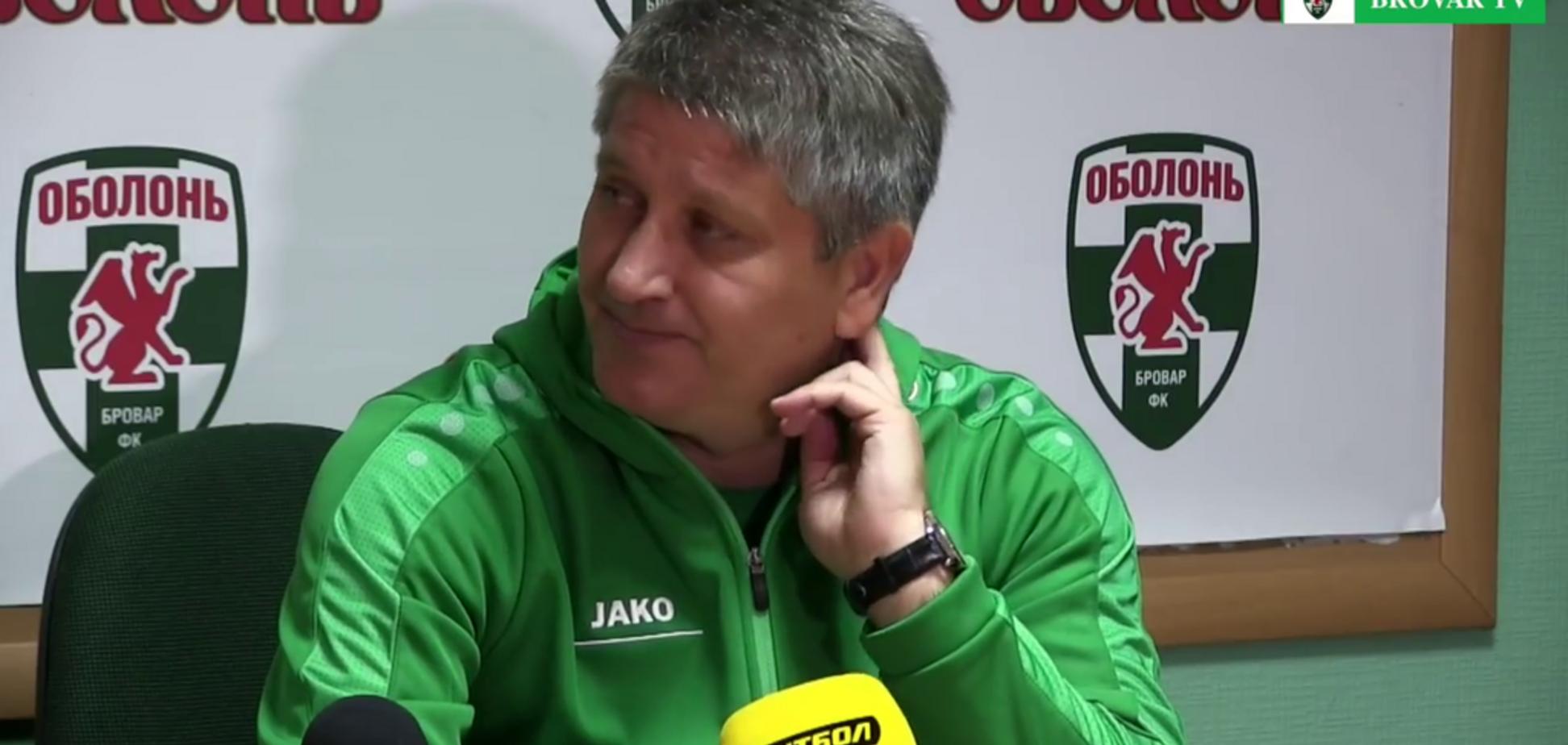 ''Отвечай на мове'': украинский тренер пресек футболиста, говорящего по-русски