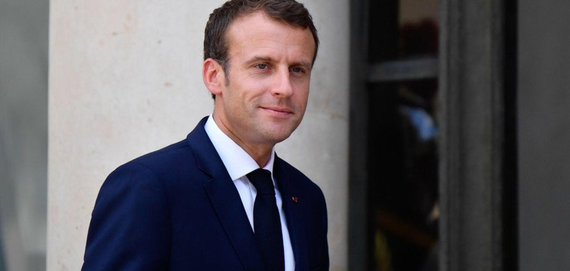 Большая ошибка французского президента