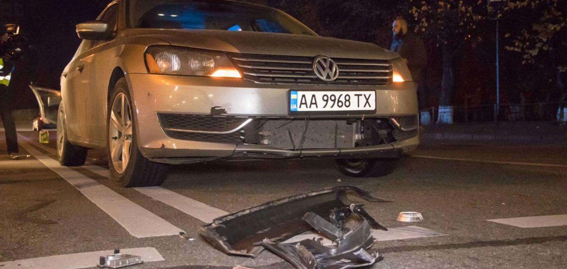 У Києві авто дипломата з Греції потрапило у ДТП: фото аварії