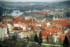 'З пташиного польоту': в мережі з'явилися барвисті фото Праги