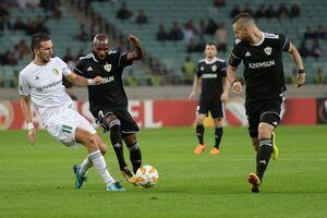 'Ворскла' в скандальном матче проиграла 'Карабаху' в Лиге Европы