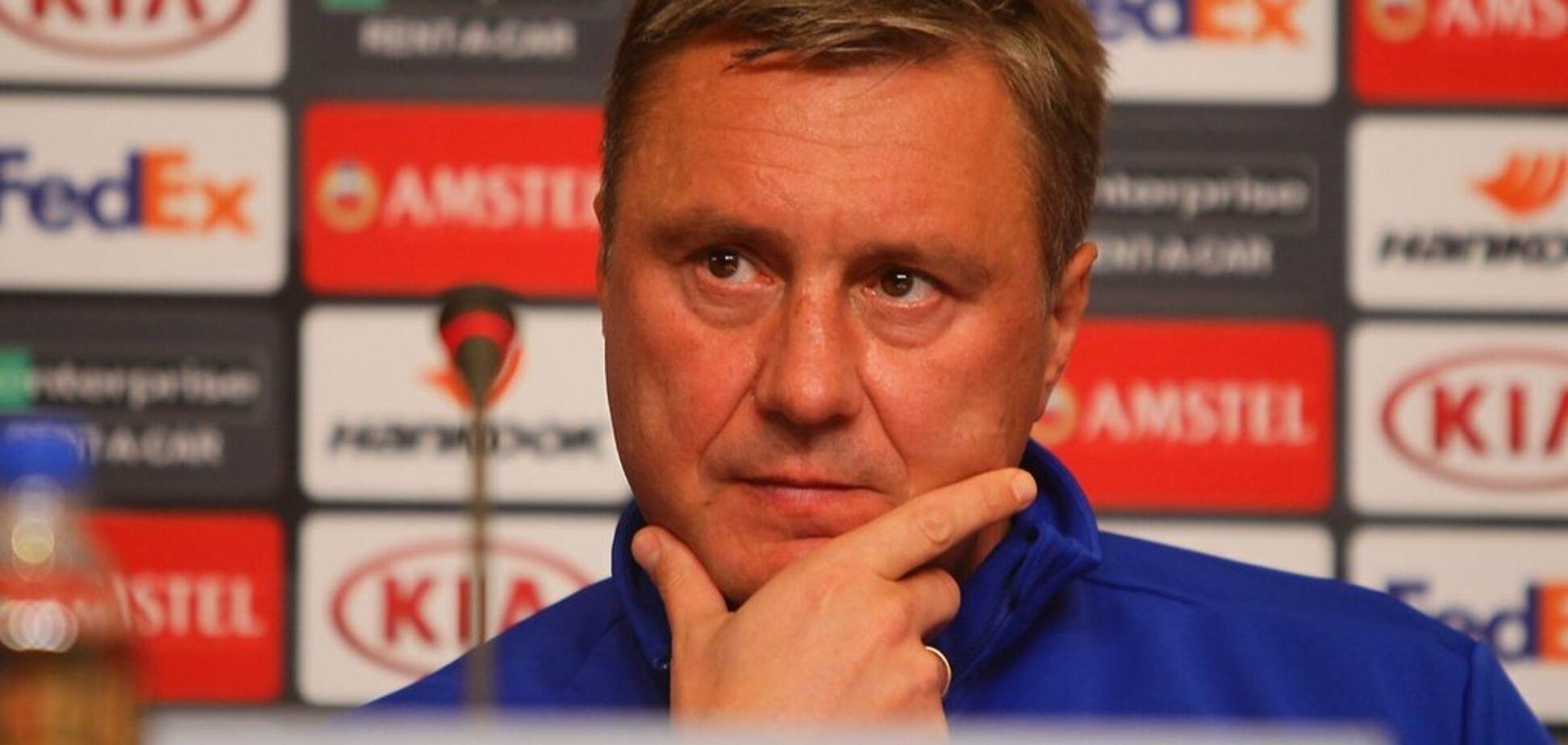''Не було установки'': Хацкевич висловився про матч із 'Ренном'