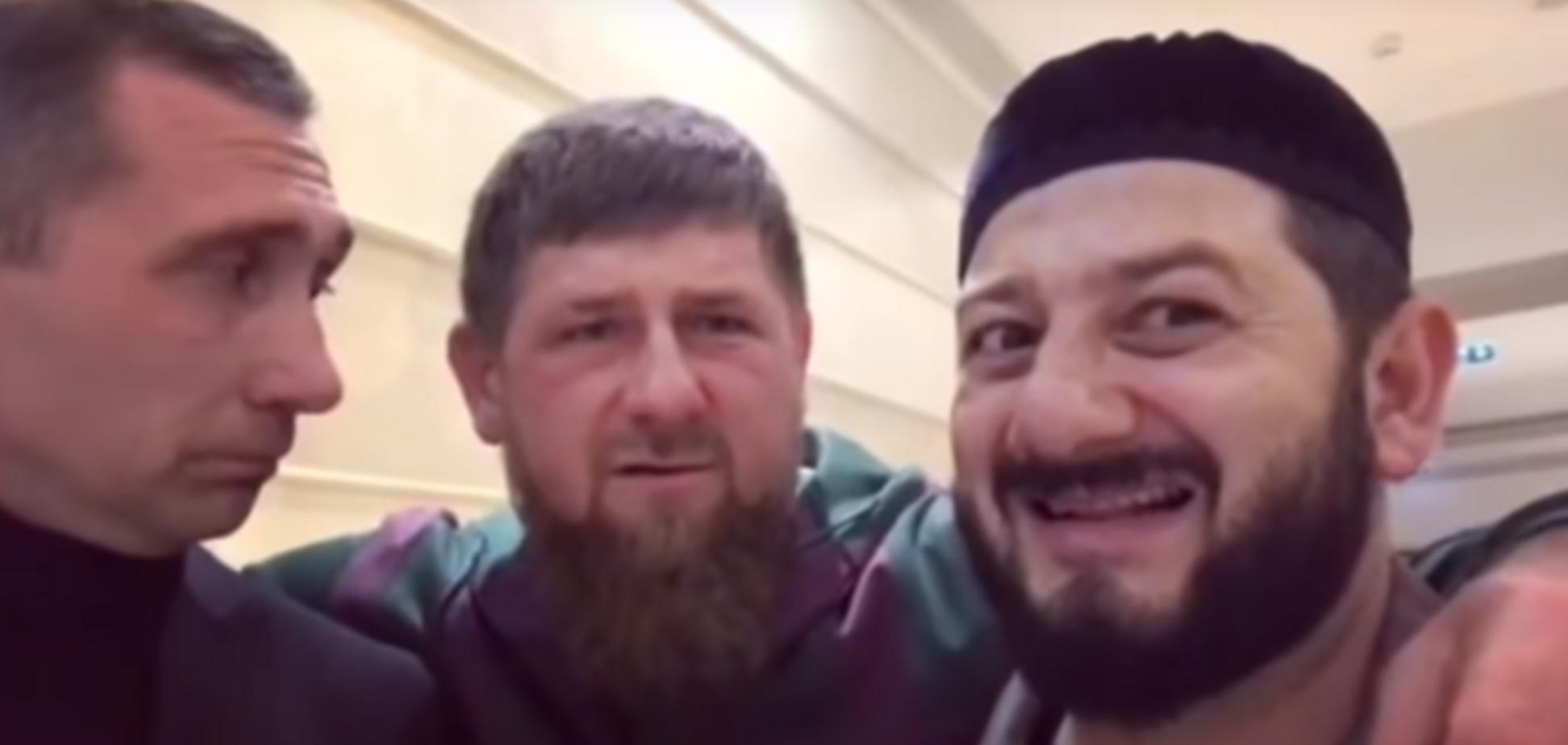 Михаил Галустян и Рамзан Кадыров