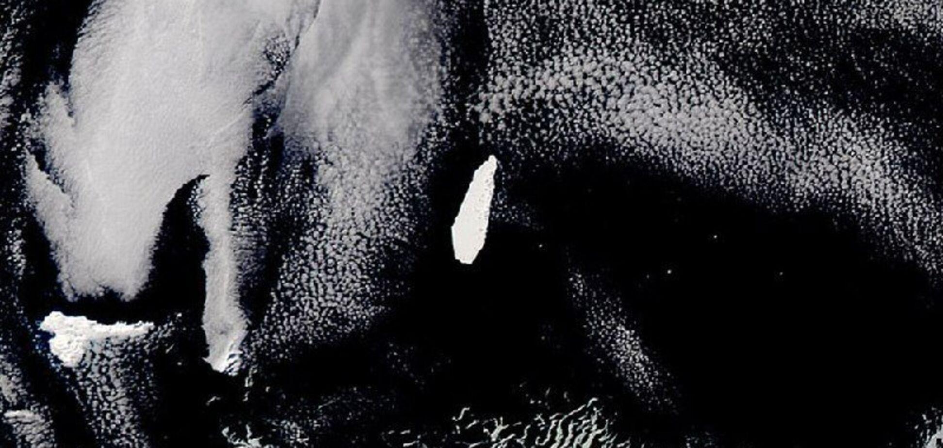 ''Предчувствие скорого конца'': с космоса засняли гигантский ''гроб''. Фотофакт