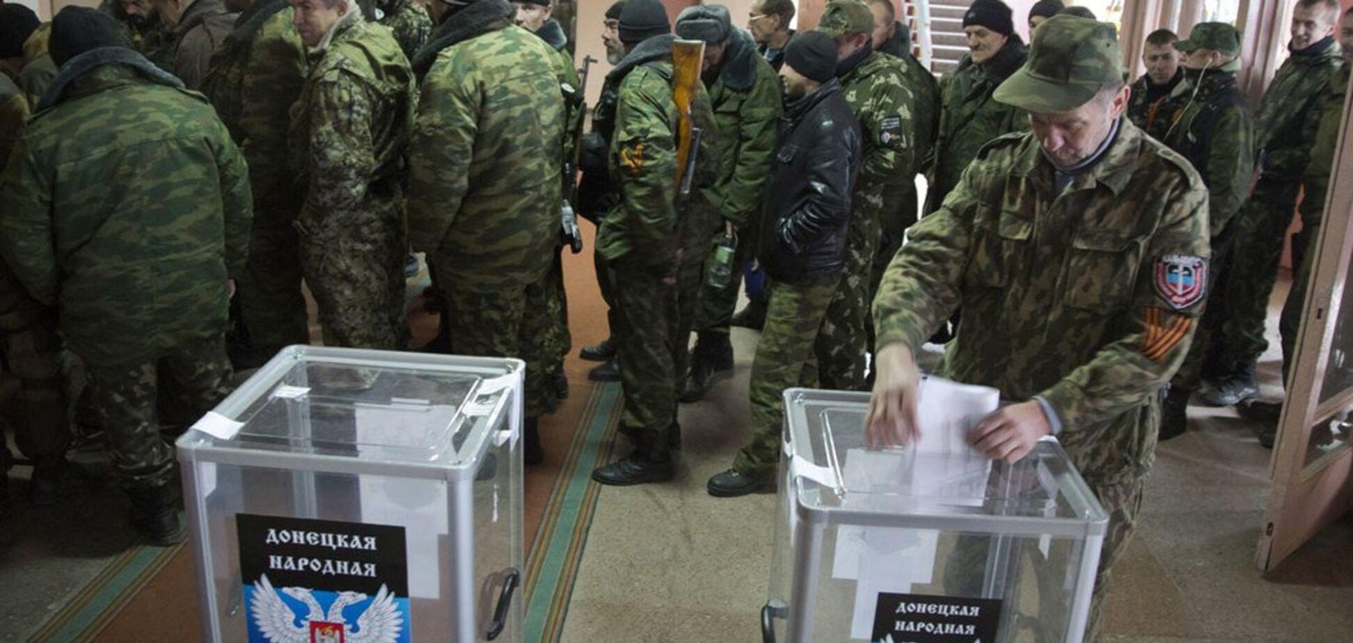 ''Выборы действительно предопределены'': депутат ''ДНР'' сдал террористов