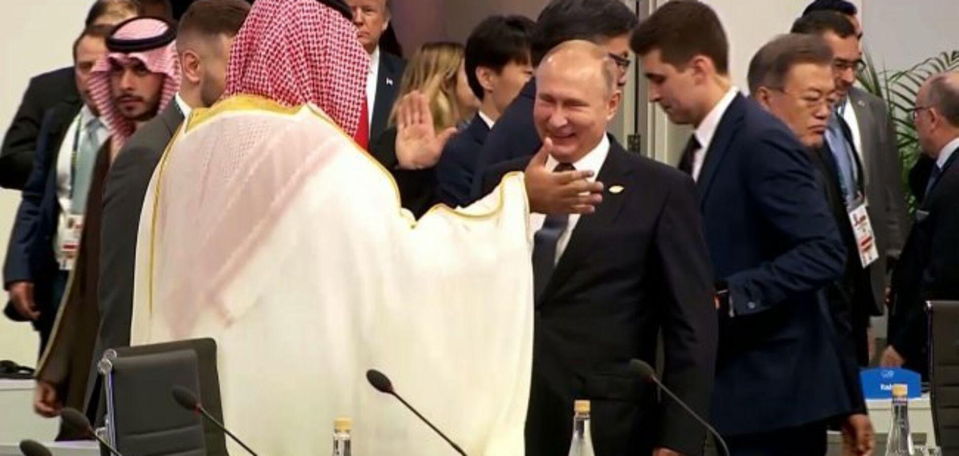 ''Вбивці раді один одного бачити'': мережу підірвала витівка Путіна на саміті G20