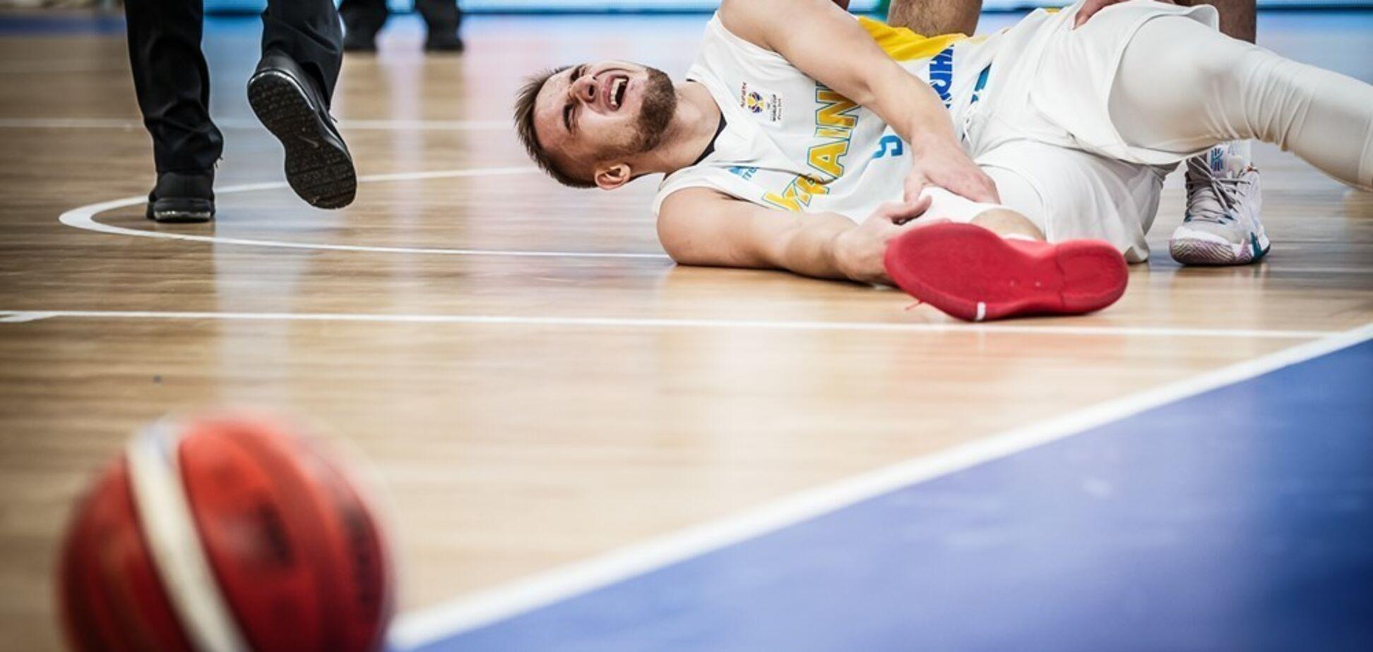 Україна зазнала серйозної втрати у відборі КС з баскетболу