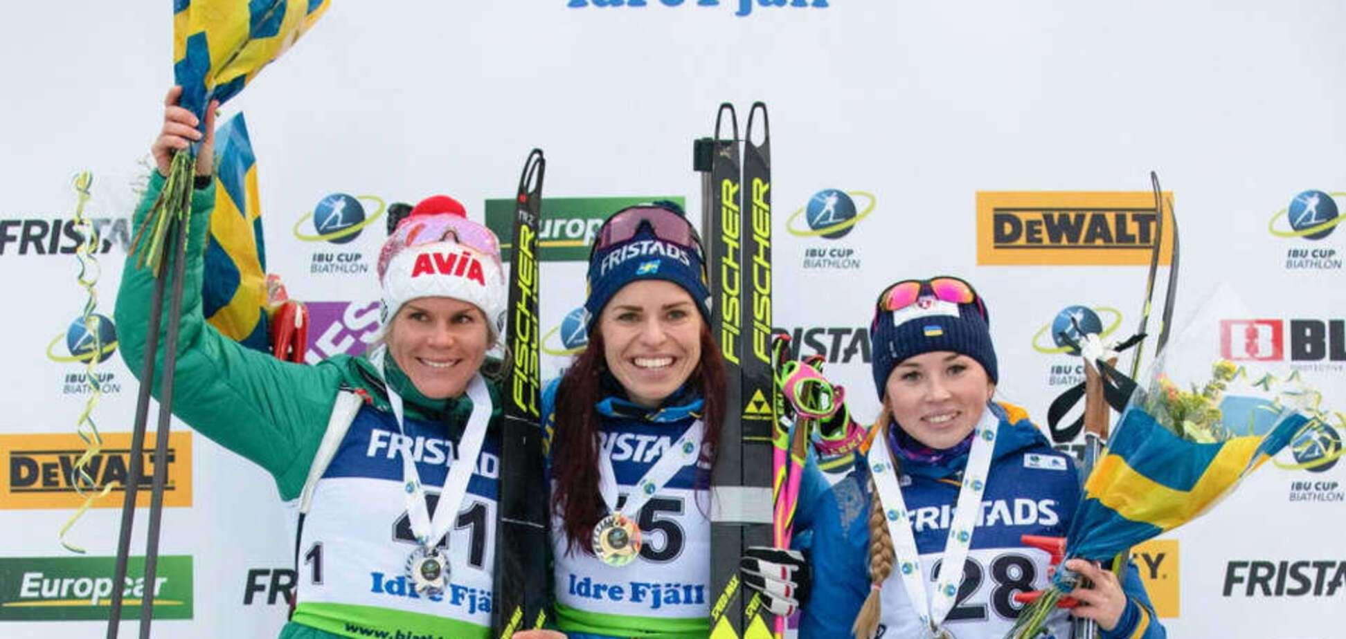 Украина завоевала первую медаль в новом биатлонном сезоне