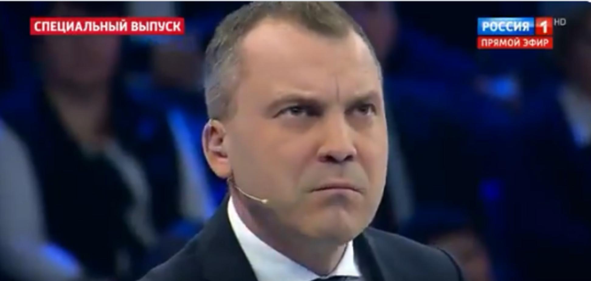 ''Россия – облезлый медведь, подходить противно'': украинка на росТВ жестко приструнила пропагандистов