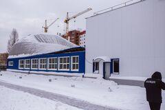 Під час тренування: під Києвом завалився дах шкільного спортзалу
