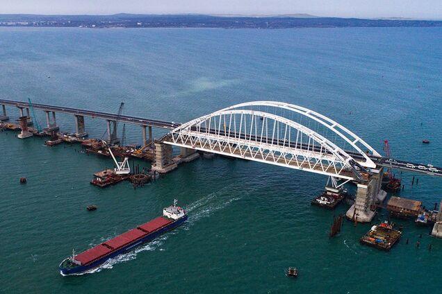 Россия заблокировала новые суда в Керченском проливе