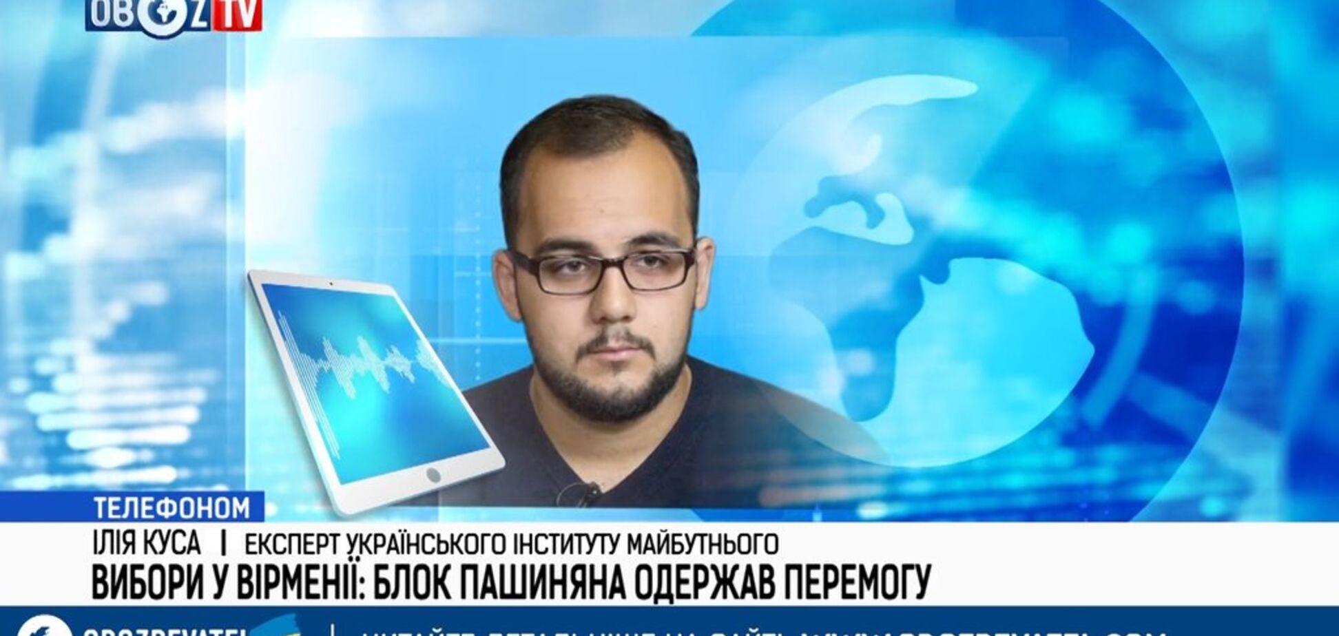 Пашинян буде балансувати між інтересами Росії та Вірменії – експерт
