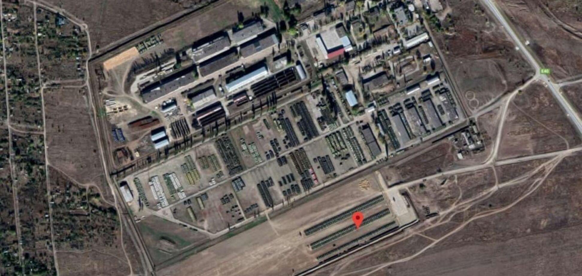 Россия стянула к границе с Украиной военных и технику: подробная карта